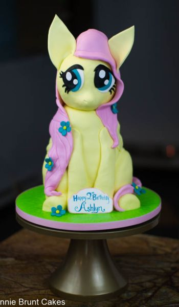 My Little Pony Fluttershy Birthday Cake