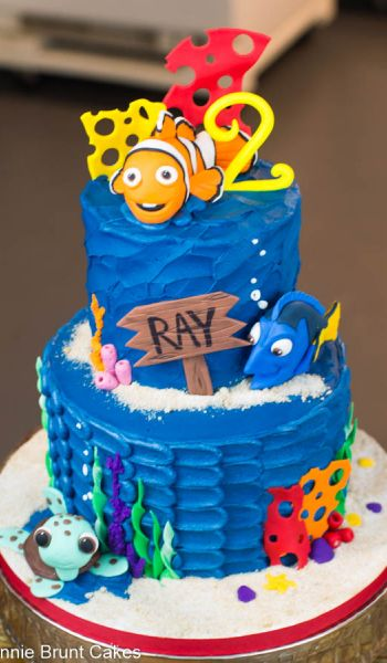 Disney Finding Nemo Birthday Cake