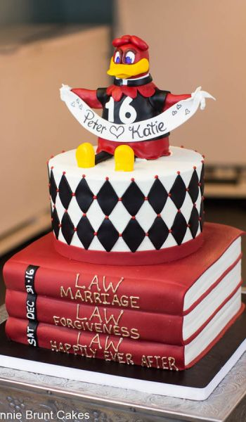 South Carolina Law School Grooms Cake